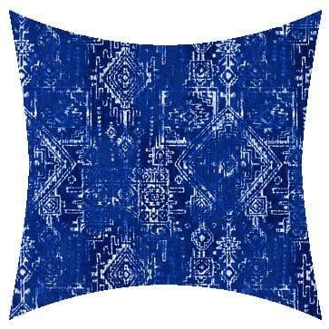 Premier Prints Outdoor Sioux Cobalt Outdoor Cushion