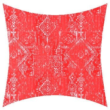 Premier Prints Outdoor Sioux Indian Coral Outdoor Cushion