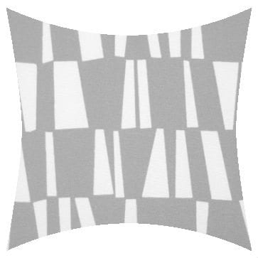 Premier Prints Outdoor Sticks Gray Outdoor Cushion