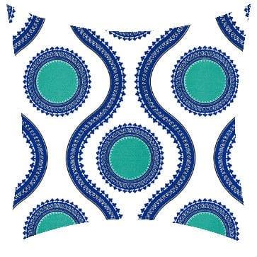 Premier Prints Outdoor Susette Cobalt Outdoor Cushion