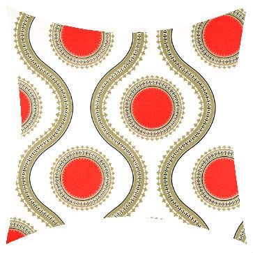 Premier Prints Outdoor Susette Indian Coral Outdoor Cushion