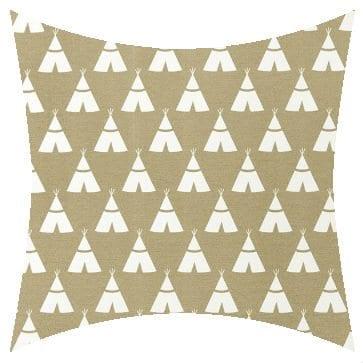 Premier Prints Outdoor Teepee Beechwood Outdoor Cushion