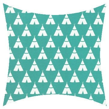 Premier Prints Outdoor Teepee Ocean Outdoor Cushion