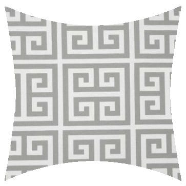 Premier Prints Outdoor Towers Gray Outdoor Cushion