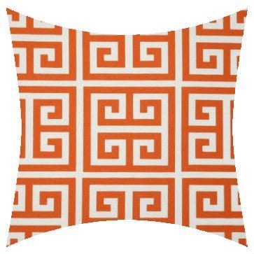 Premier Prints Outdoor Towers Orange Outdoor Cushion