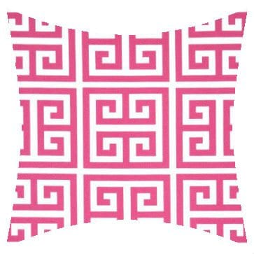 Premier Prints Outdoor Towers Preppy Pink Outdoor Cushion