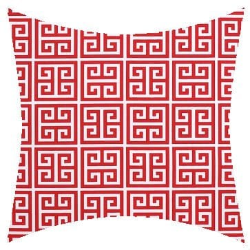 Premier Prints Outdoor Towers Rojo Outdoor Cushion