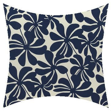 Premier Prints Outdoor Twirly Deep Blue Outdoor Cushion
