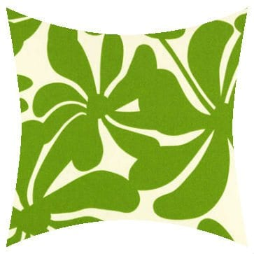Premier Prints Outdoor Twirly Greenage Outdoor Cushion