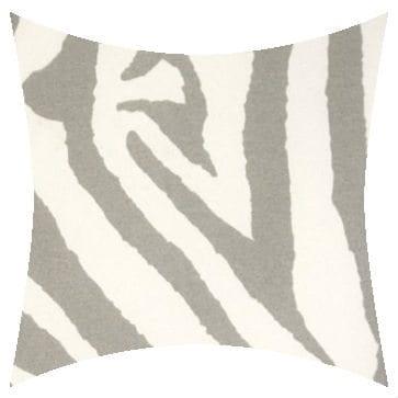 Premier Prints Outdoor Zebra Gray Outdoor Cushion