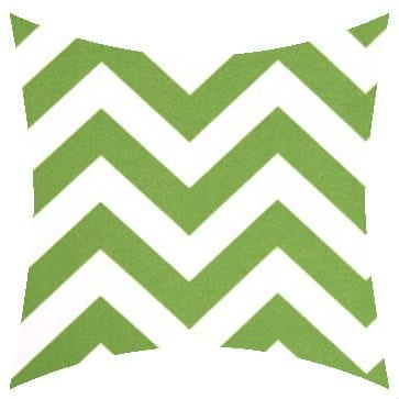 Premier Prints Outdoor Zigzag Bay Green Outdoor Cushion