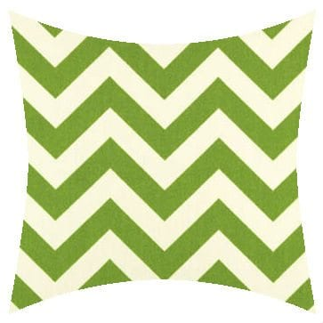 Premier Prints Outdoor Zigzag Greenage Outdoor Cushion