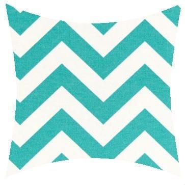 Premier Prints Outdoor Zigzag Ocean Outdoor Cushion