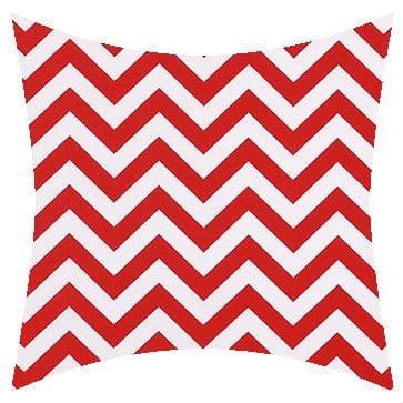 Premier Prints Outdoor Zigzag Rojo Outdoor Cushion