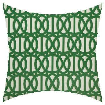 Sunbrella Reflex Emerald Outdoor Cushion