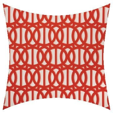 Sunbrella Reflex Flame Outdoor Cushion