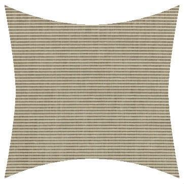 Sunbrella Rib Taupe Outdoor Cushion