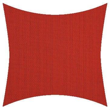 Sunbrella Spectrum Crimson Outdoor Cushion