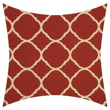 Sunbrella Accord Crimson Outdoor Cushion