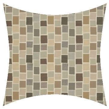 Sunbrella Blox Slate Outdoor Cushion