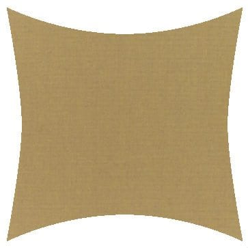 Sunbrella Canvas Brass Outdoor Cushion