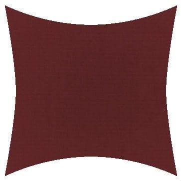 Sunbrella Canvas Burgundy Outdoor Cushion