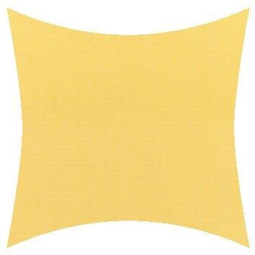 Sunbrella Canvas Buttercup Outdoor Cushion