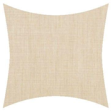 Sunbrella Canvas Flax Outdoor Cushion