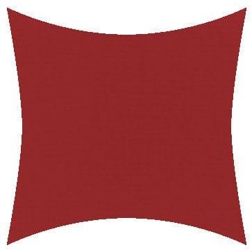 Sunbrella Canvas Jockey Red Outdoor Cushion