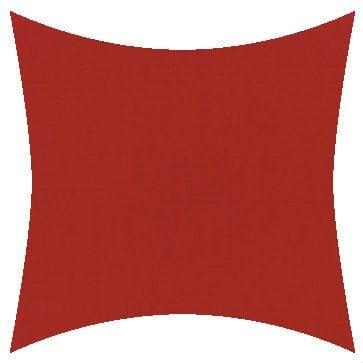 Sunbrella Canvas Logo Red Outdoor Cushion