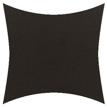 Sunbrella Canvas Raven Black Outdoor Cushion
