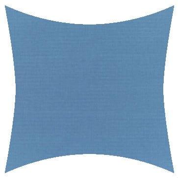 Sunbrella Canvas Sky Blue Outdoor Cushion