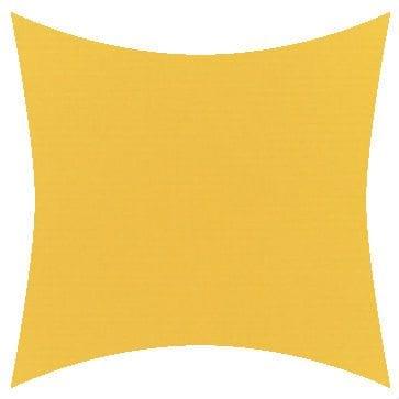 Sunbrella Canvas Sunflower Yellow Outdoor Cushion
