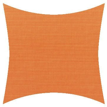 Sunbrella Canvas Tangerine Outdoor Cushion