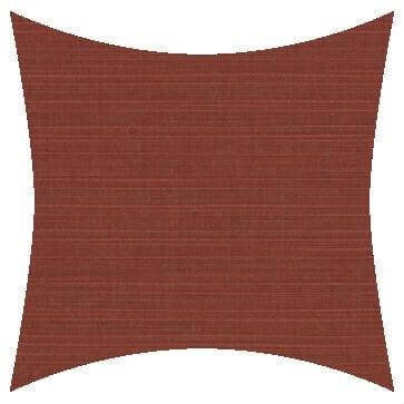 Sunbrella Dupione Henna Outdoor Cushion