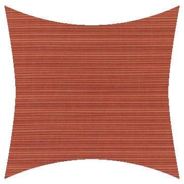 Sunbrella Dupione Papaya Outdoor Cushion