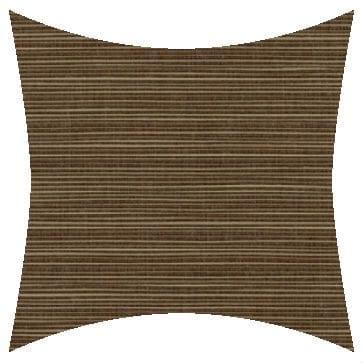 Sunbrella Dupione Walnut Outdoor Cushion