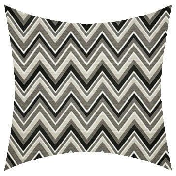 Sunbrella Fischer Graphite Outdoor Cushion