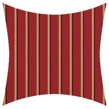 Sunbrella Harwood Crimson Outdoor Cushion