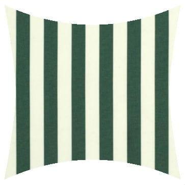 Sunbrella Mason Forest Green Outdoor Cushion