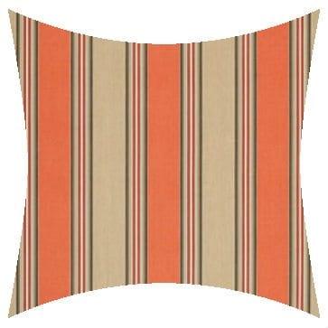 Sunbrella Passage Poppy Outdoor Cushion