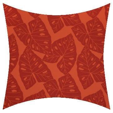 Sunbrella Radiant Sangria Outdoor Cushion