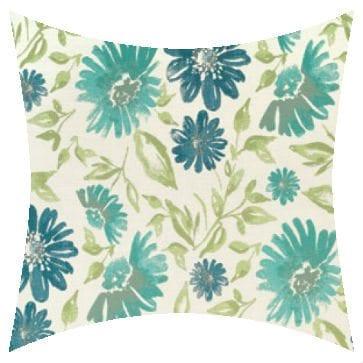 Sunbrella Violetta Baltic Outdoor Cushion