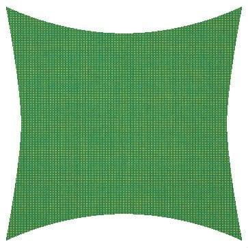 Sunbrella Volt Emerald Outdoor Cushion