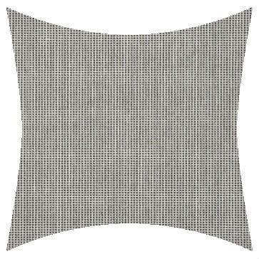 Sunbrella Volt Silver Outdoor Cushion