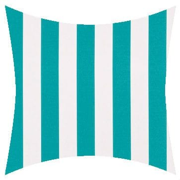 Warwick Mallacoota Turquoise Outdoor Cushion