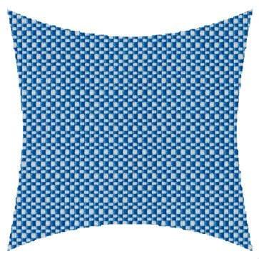 James Dunlop Pegasus Crete Azure Outdoor Cushion