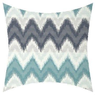 James Dunlop Grenada Azure Outdoor Cushion