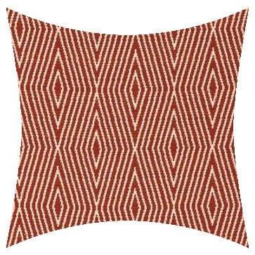 James Dunlop Jamaica Coral Outdoor Cushion