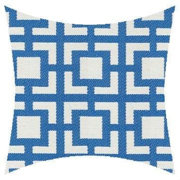 James Dunlop Pegasus Mykanos Azure Outdoor Cushion